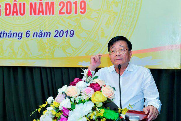 Ông Nguyễn Quốc Hùng, Vụ trưởng Vụ tín dụng các ngành kinh tế
