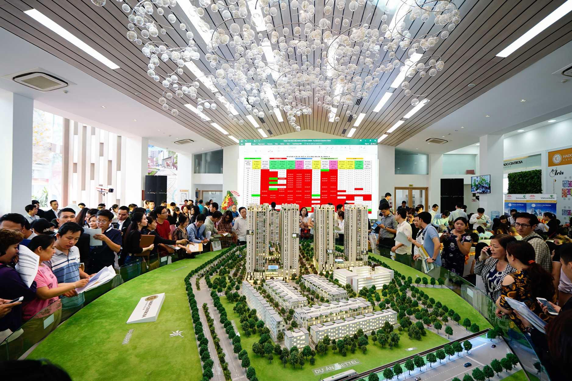 Hơn 2000 căn hộ dự án HaDo Centrosa Garden đã có chủ