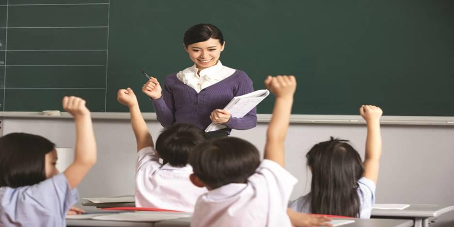 Khu trường học chuẩn quốc tế với độ ngũ giáo viên chất lượng, trang thiết bị hiện đại