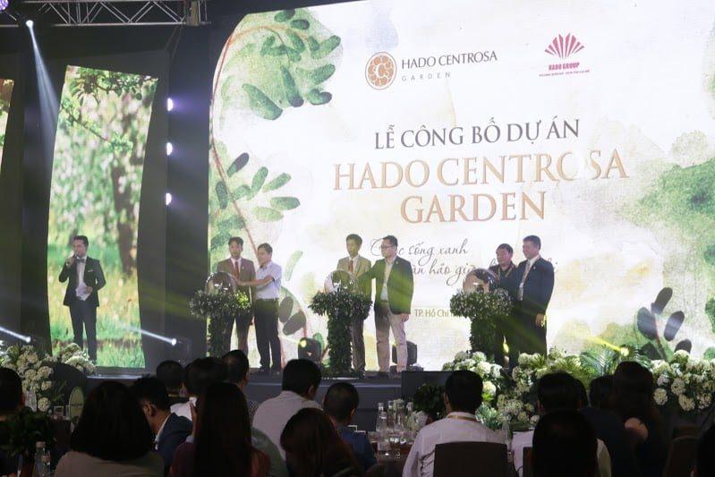 Tập đoàn Hà Đô ra mắt thị trường dự án căn hộ cao cấp HaDo CentroSa Garden