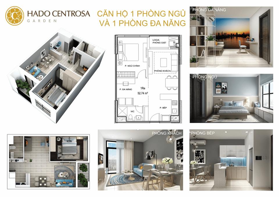 Khám phá 2 tòa tháp căn hộ đẹp nhất HaDo Centrosa Garden: Iris 1 & 2
