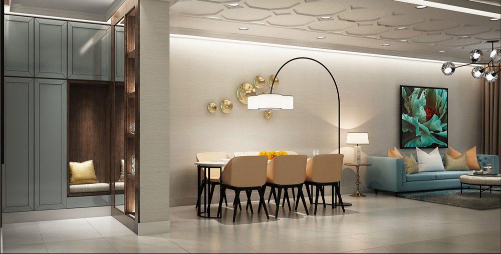 Thiết kế căn hộ mẫu dự án HaDo Centrosa Garden 1PN, 2PN, 3PN