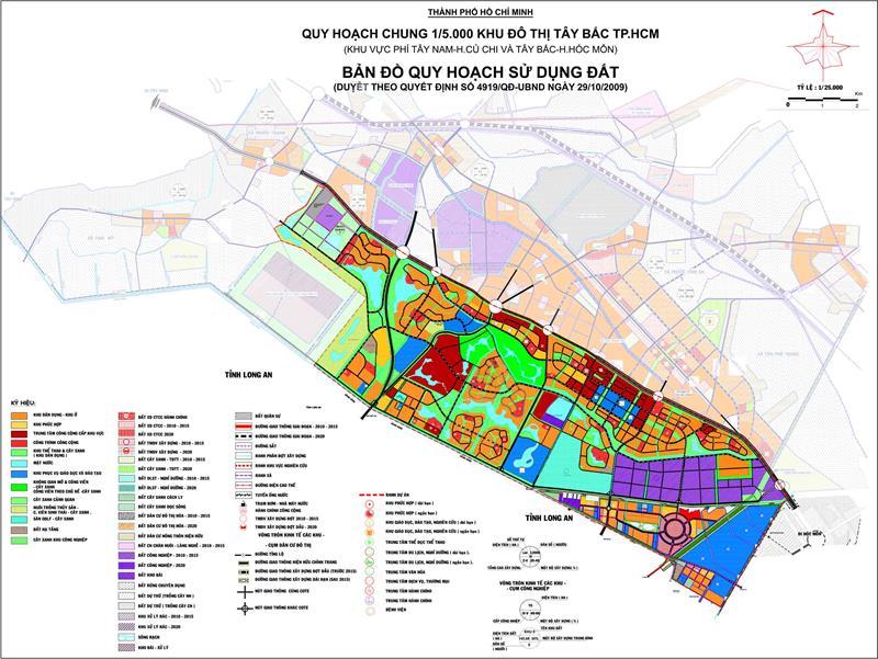 Tp.hcm quy hoạch khu đô thị Tây Bắc, sắp hình thành thêm một Phú Mỹ Hưng thứ hai?