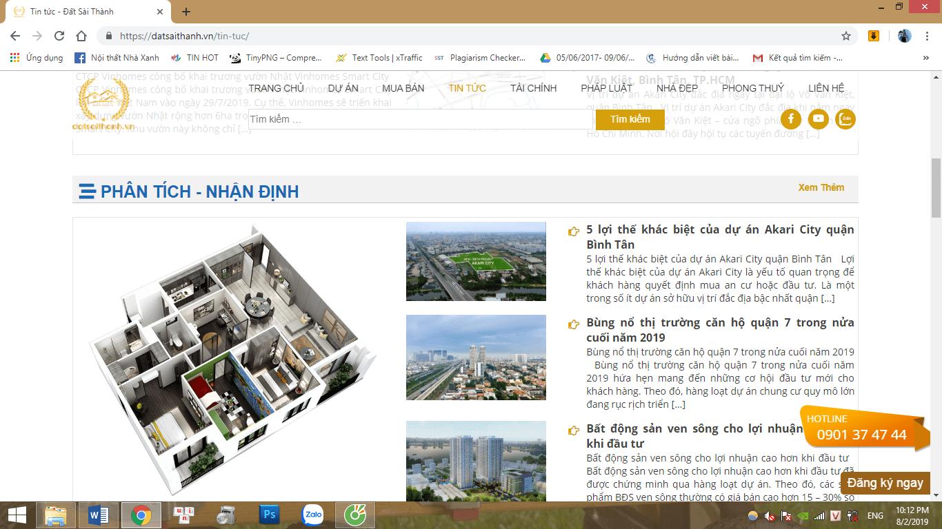 Đất Sài Thành – Website bất động sản uy tín chuyên nghiệp hàng đầu Việt Nam
